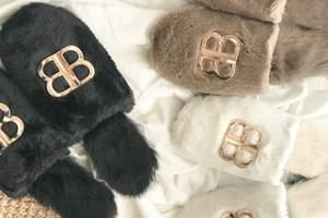 BB Gold Point Pointer Slippers _ss02779