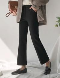 Four seasons slippery boots cut slacks