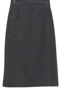 About Banding Midi Skirt