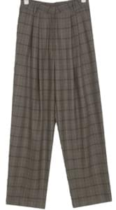 isabel pintuck wide slacks (s, m)