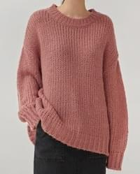 pastel tight round knit