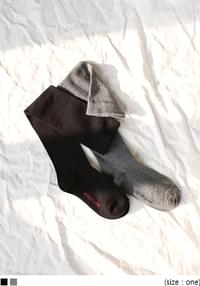 Over-the-Knee High Cotton Socks