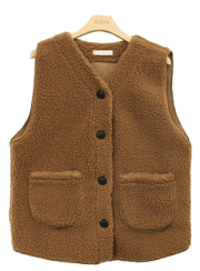 Foley Pocket Fleece Vest