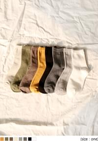 COTTON 100% DAILY SOCKS