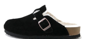 Pint Leather Wool Slippers 3cm