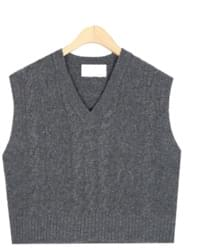 freshman twist wool vest