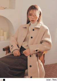 SPELL WOOL RAGLAN SINGLE COAT