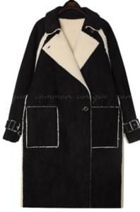 HOLLY 2 WAY RAGLAN MUSTANG COAT