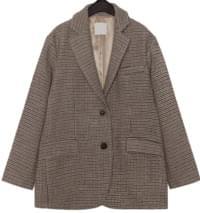 HOUND WOOL 70% BOXY JACKET
