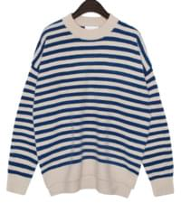 PILY ROUND STRIPE KNIT