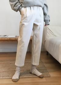 Two-quarter Cotton Pants