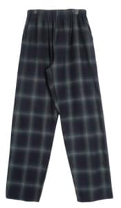 European Check Bending Pants
