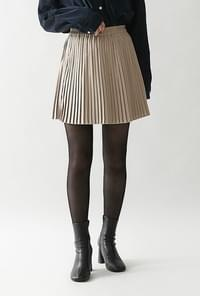 Chedi pleated skirt