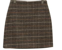 Havel check wool skirt_M (울 30%) (size : S,M)