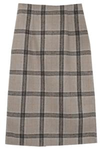 Matilda check udon skirt