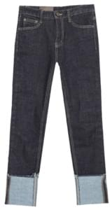 Bermuda roll-up date pants jeans