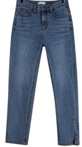 Slit point napping jean