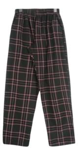 Square Check Banding Pants