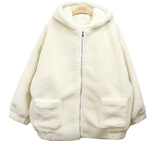 Fleece box hood