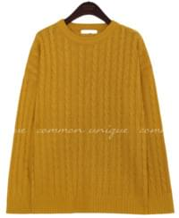6 COLOR ALL TWIST ROUND KNIT