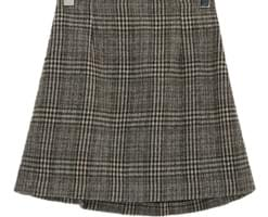 Julie check skirt