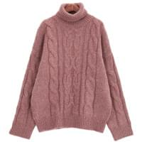 Endless twist knit