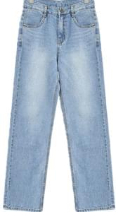 Double denim pants