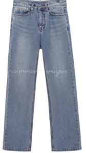 ABOUT STRAIGHT DENIM PANTS 牛仔褲