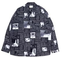 newspaper shirts (2color) - UNISEX