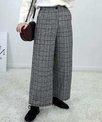 Hering Check Slacks P