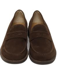 Tess suede classic loafer_K (size : 225,230,235,240,245,250)
