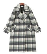 Heon Check Nu Beam Coat