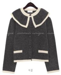 BAY WOOL 50% SAILOR KNIT CARDIGAN
