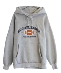 Both brushed rugby school hoodies