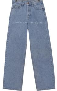 CAIN WIDE LONG DENIM PANTS
