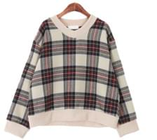 Marm check knit