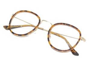 Bold frame color glasses_S (size : one)