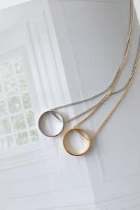 Simple Ring Necklace