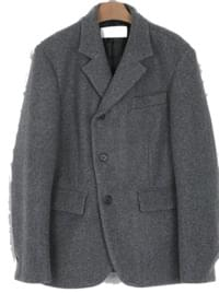 important unbal three button jacket (2colors)