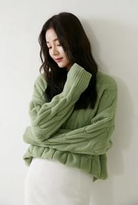 Scoop soft knit