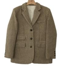 MMMM / vintage wool check jacket