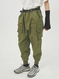 supple cargo jogger pants - UNISEX