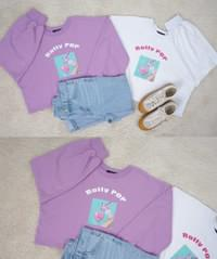 Raleigh Puff Crop T