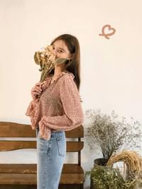 Friller Flower Blouse