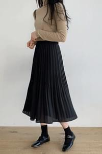 Milk tie long skirt
