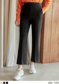 MARITA SEMI BOOTS CUT SLACKS