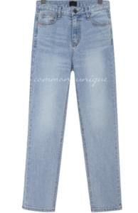 PASS STRAIGHT LIGHT DENIM PANTS