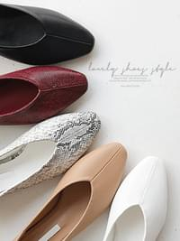 Lovely 2-way Flat Shoes 1.5cm