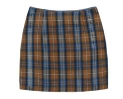 Daven checked skirt