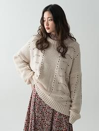 4 color vintage knit